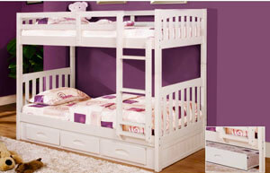 0210M Twin Twin Bunk Bed