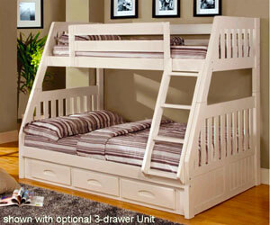 0218 Twin Full Bunk Bed