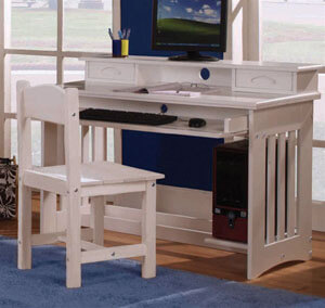 0267,0267H,0275 Student Desk w. Hutch and Desk Chair