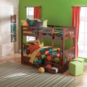 Twin_Bunk_Bed_Merlot