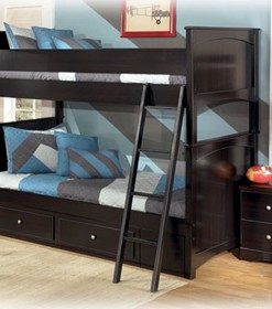 CappuccinoTwin Bunk Bed 1
