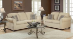 Taupe Sofa and Love Seat 1
