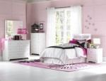 White Glam-Jeweled Bedroom Set 1
