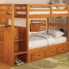 2114 Honey Staircase Bunk Bed