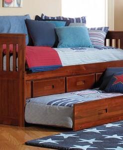 Merlot Full Captains Bed All American Furniture Buy 4