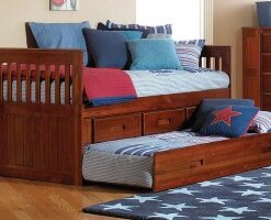 2835 Merlot Twin Day Bed