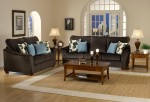 Ashley Microfiber Sofa Love 1