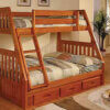 2118 Twin Full Bunk Bed