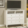 Sandy Beach 201306 Media Chest White