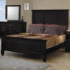 Sandy Beach 201321 Black high headboard