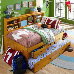 2122 twin honey daybed