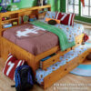2123 Honey Full Daybed