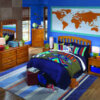 2138 Full or Queen Headboard Honey
