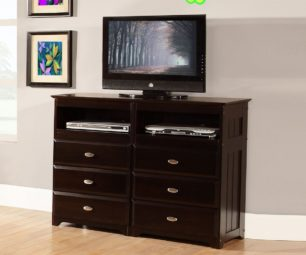 2971 - Entertainment Dresser -Espresso
