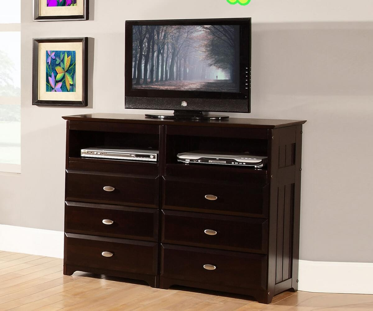 media curve tv espresso contemporary bookcase piece products stand floating