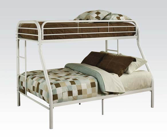 Twin Full Color Metal Bunk Beds All American Furniture