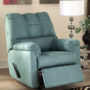 7500625 SkyBlue RRecliner Darcy