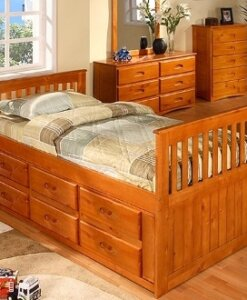 2135 Honey Twin Rake Bed