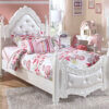 B188-71-83 Exquisite Twin Poster Bed
