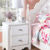 B188-92 Exquisite Nightstand 2 Drawer