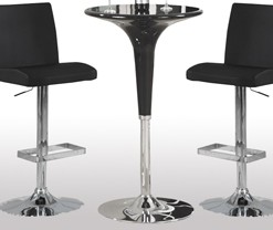 120325 Bar Table Chairs Contemporary