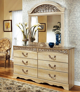 B104-31-36 Dresser Mirror Catalina