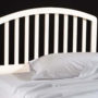 1109-340 carolina wooden twin headboard white