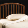 1593-340 carolina wooden headboard cherry