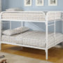 460056W Coaster Fordham Full over Full Bunk Bed