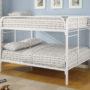 460056W Coaster Fordham Full over Full Bunk Bed
