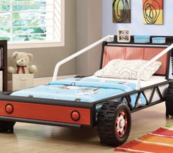 400700 Red Car Bed