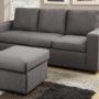 F7491 Sofa Ottoman Grey