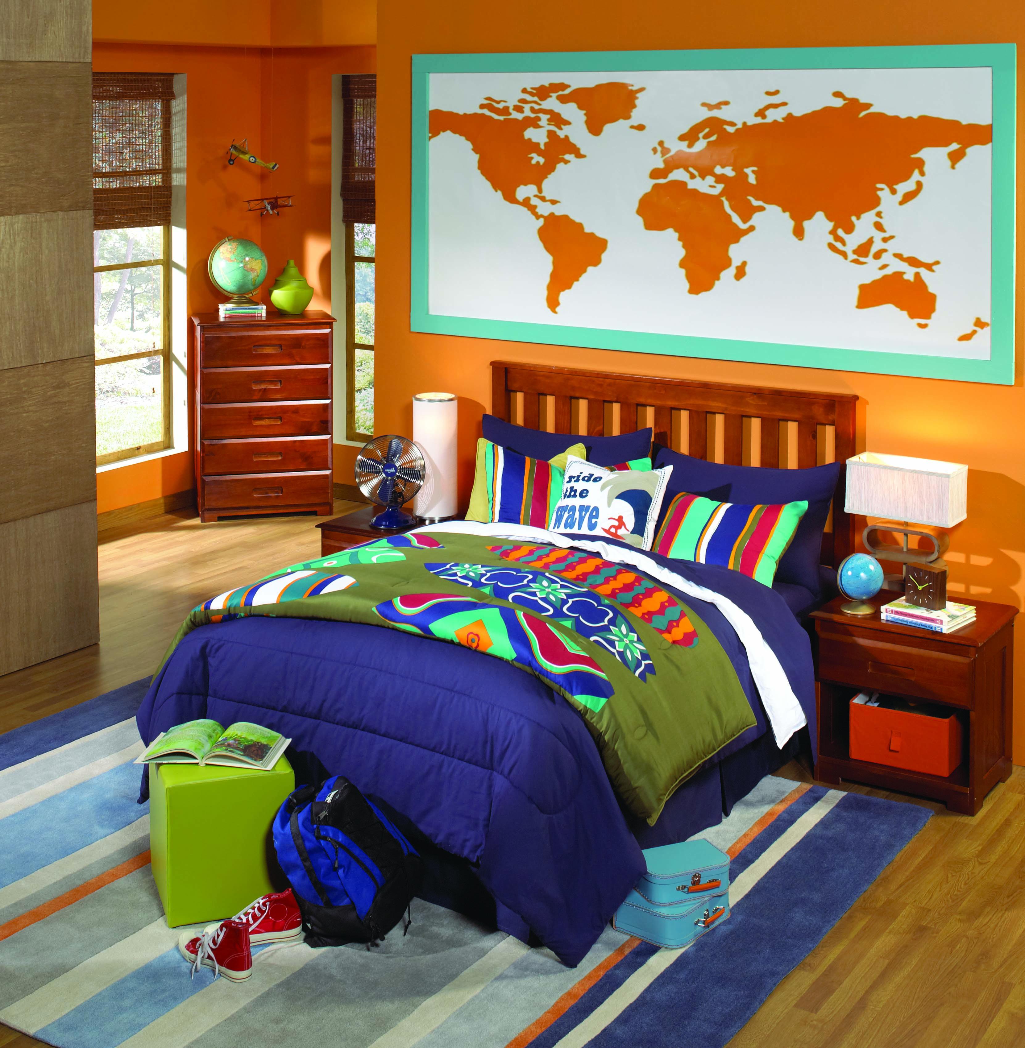 Merlot Solid Wood Bedroom All American Furniture Buy 4