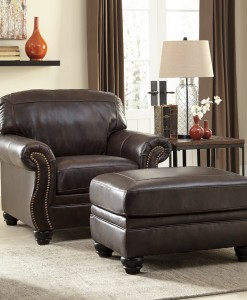 Signature Bristan Chair and Ottoman
