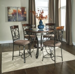 Glambrey Counter Height Dining Set