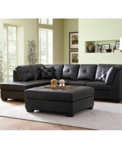 Leather Sectional Sofa
