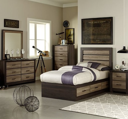 Oakland Youth Bedroom Collection All American Furniture Buy 4 Less Open