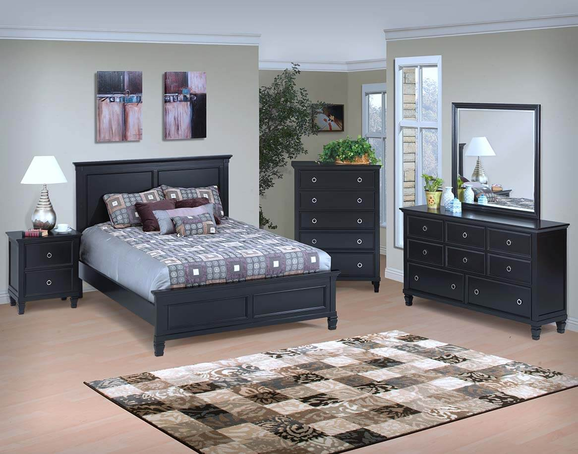 Tamarack Bedroom Black All American Furniture Buy 4 Less Open To Public