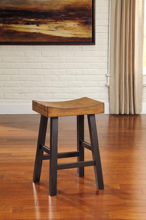 24 Quot Glosco Mango Wood Bar Stool All American Furniture