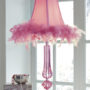 Auren Pink Table Lamp
