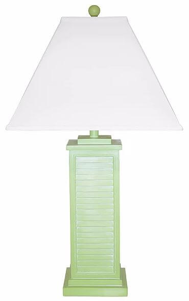 Blue Shutter Table Lamp All American Furniture Buy 4