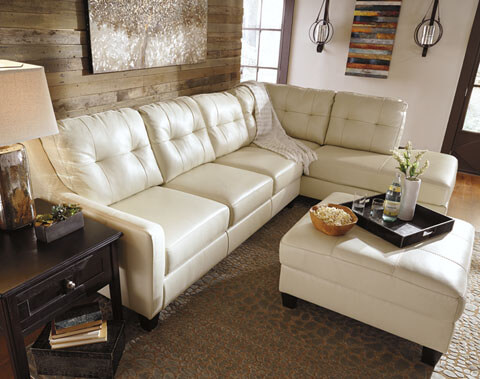 O 39 Kean Galaxy Leather Living Room All American Furniture