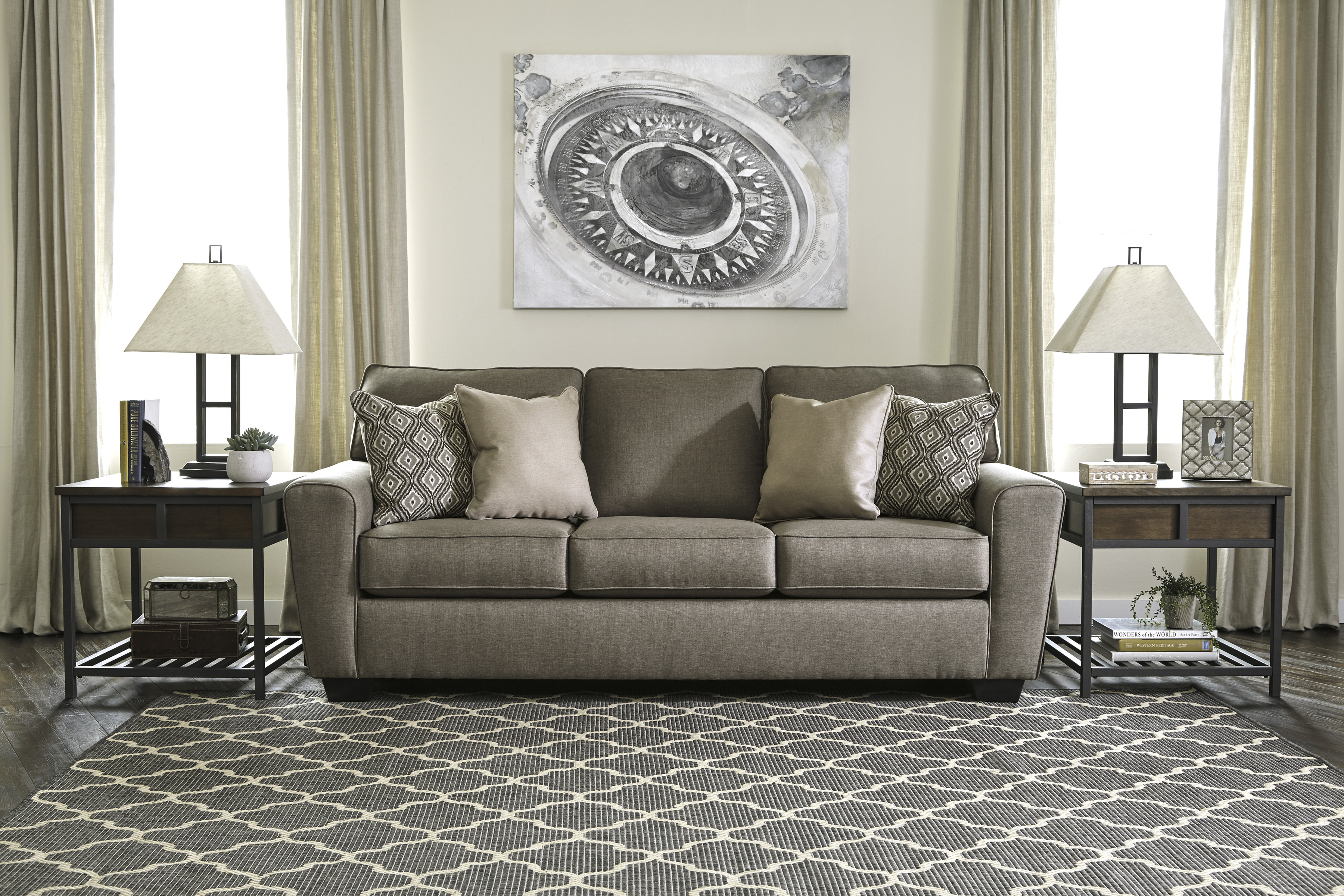 Calicho Cashmere Living Room All American Furniture