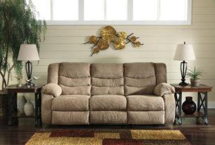 Tulen Mocha Reclining Sofa