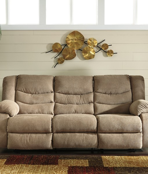 Tulen Mocha Reclining Sofa Love All American Furniture Buy 4 Less Open To Public