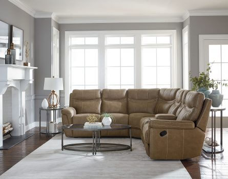 Boardwalk_Reclining_Sectional_Brown