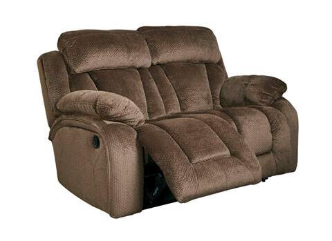Stricklin_Reclining_Loveseat_Brown