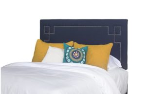 Queen Upholstered Nailhead Headboard