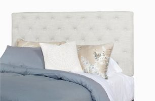Queen Upholstered Tufted Headboard
