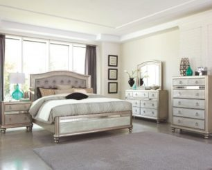 Coaster_Bling_Game_Queen_Bed_Set